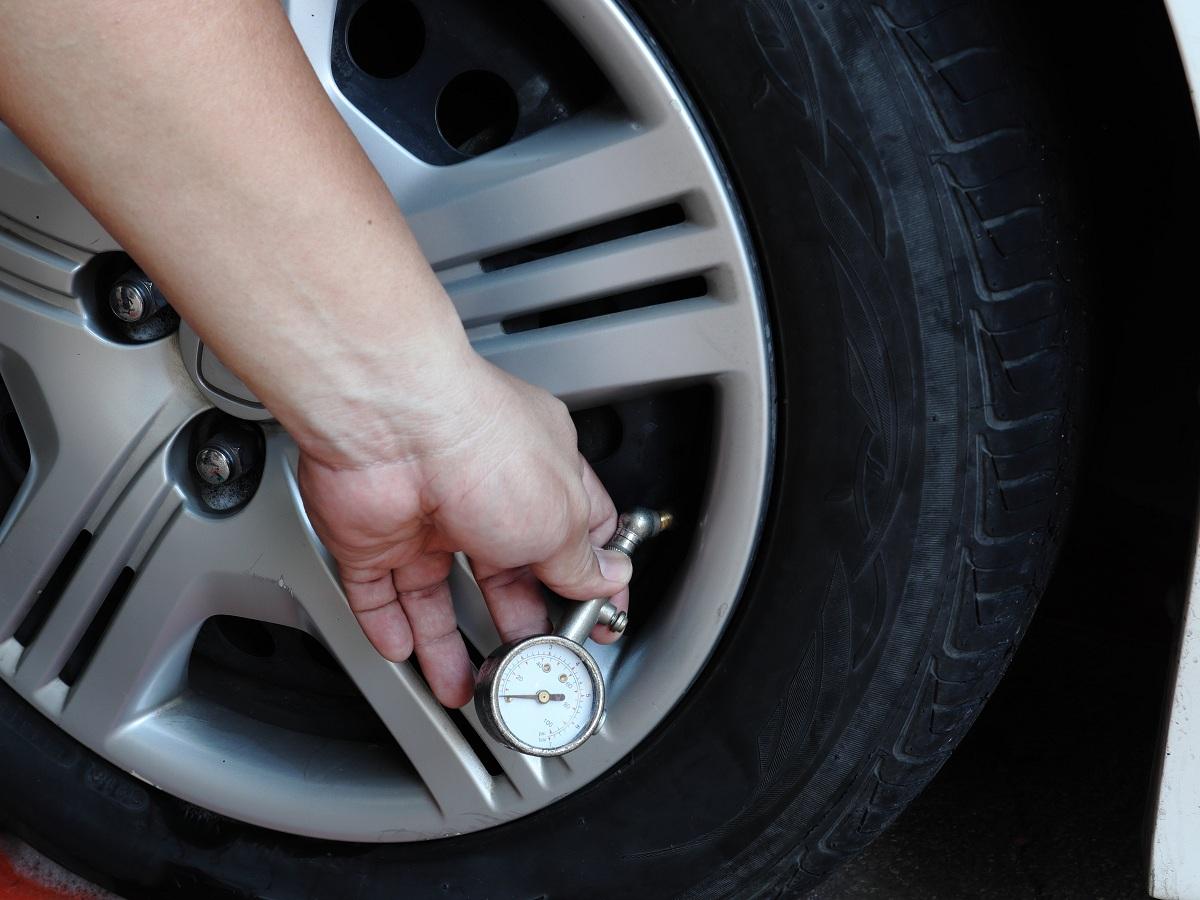 car wheel pressure